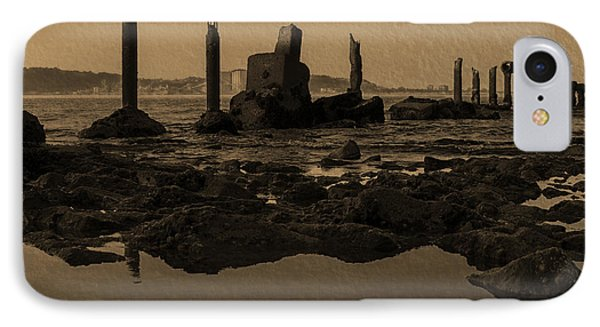 My Sea Of Ruins IIi Phone Case by Marco Oliveira
