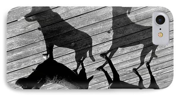 My Shadows IPhone Case by Rita Mueller