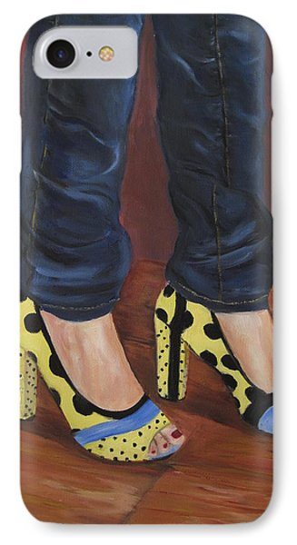 My Shoes IPhone Case by Roberta Rotunda