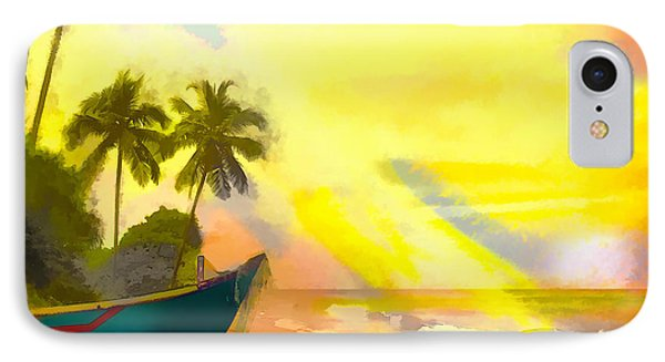 My Special Island IPhone Case by Ted Azriel