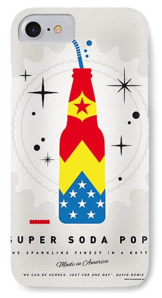 My Super Soda Pops No-04 IPhone Case by Chungkong Art