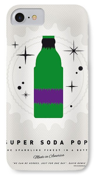 My Super Soda Pops No-11 IPhone Case by Chungkong Art