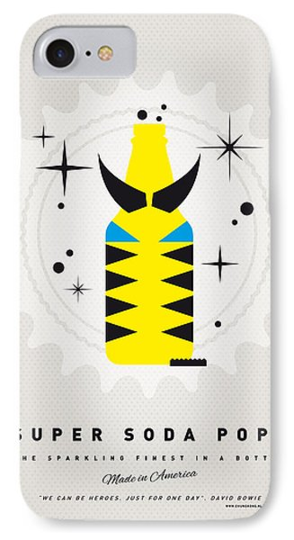 My Super Soda Pops No-13 IPhone Case by Chungkong Art