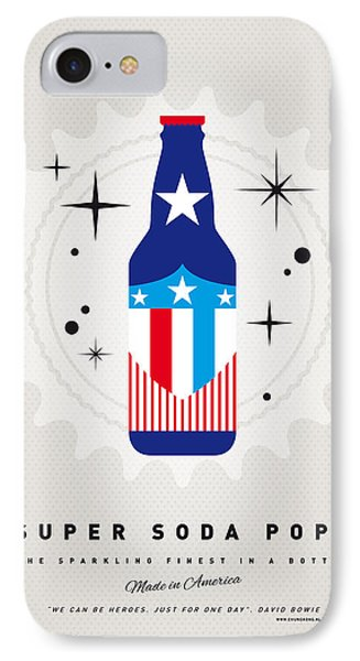 My Super Soda Pops No-14 IPhone Case by Chungkong Art