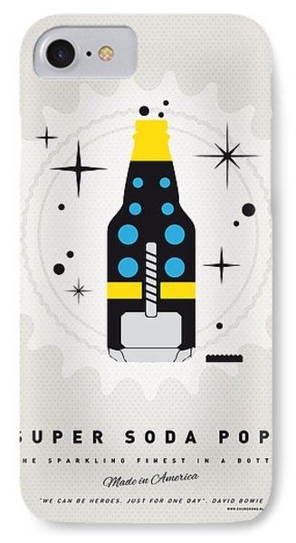 My Super Soda Pops No-22 IPhone Case by Chungkong Art