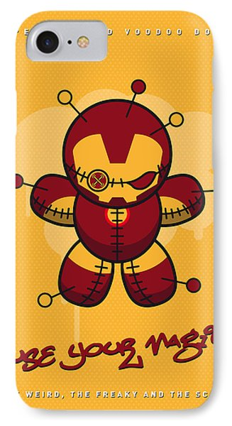 My Supercharged Voodoo Dolls Ironman IPhone Case by Chungkong Art