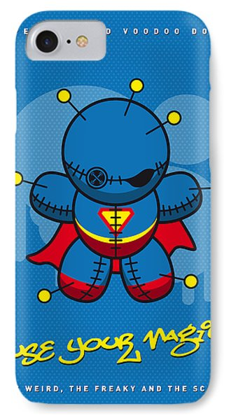 My Supercharged Voodoo Dolls Superman IPhone Case by Chungkong Art