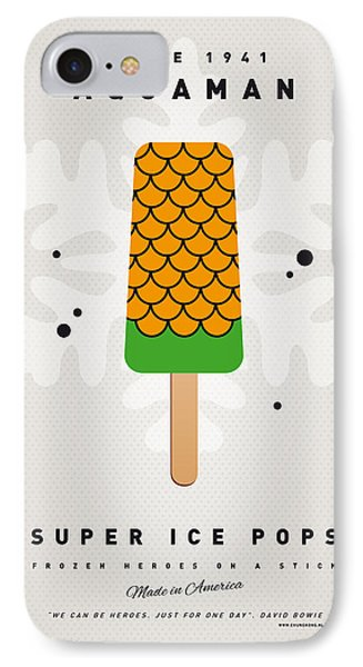 My Superhero Ice Pop - Aquaman Phone Case by Chungkong Art