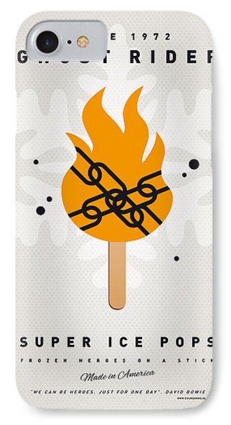 My Superhero Ice Pop - Ghost Rider IPhone Case by Chungkong Art