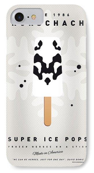 My Superhero Ice Pop - Rorschach IPhone Case by Chungkong Art
