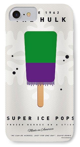 My Superhero Ice Pop - The Hulk IPhone Case by Chungkong Art