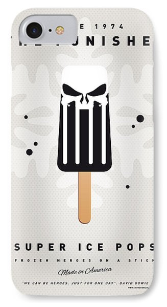 My Superhero Ice Pop - The Punisher Phone Case by Chungkong Art