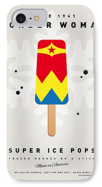 My Superhero Ice Pop - Wonder Woman IPhone Case