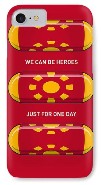 My Superhero Pills - Iron Man IPhone Case by Chungkong Art