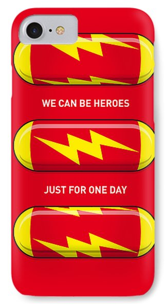 My Superhero Pills - The Flash IPhone Case by Chungkong Art