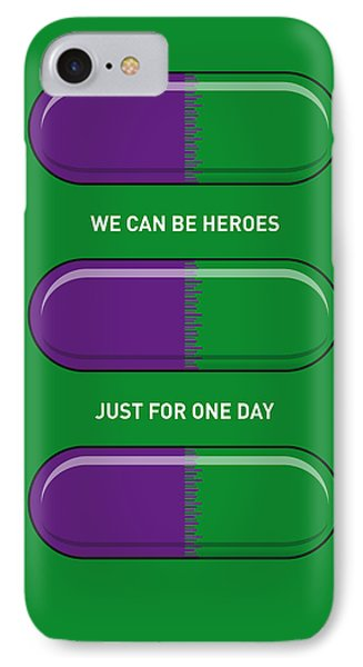 My Superhero Pills - The Hulk Phone Case by Chungkong Art