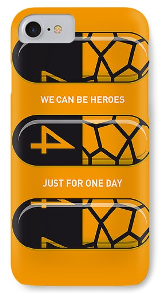My Superhero Pills - The Thing IPhone Case by Chungkong Art