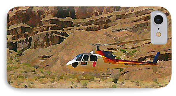 My Taxi To The Grand Canyon And Back Phone Case by John Malone