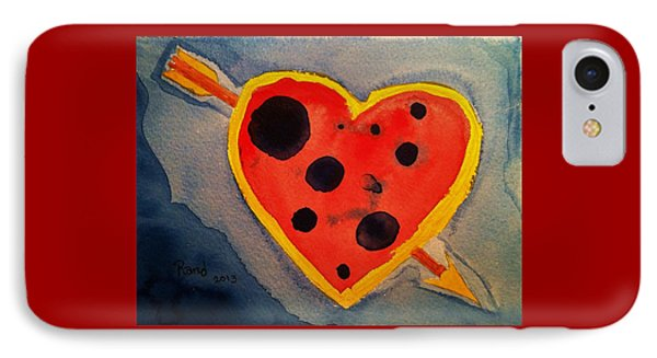 IPhone Case featuring the painting Imperfect Love by Rand Swift