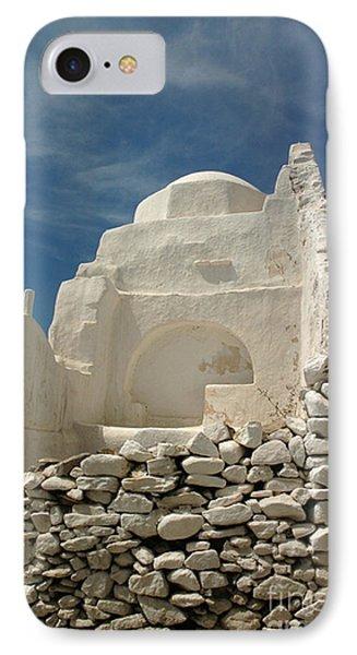 Mykonos Church IPhone Case by Vivian Christopher