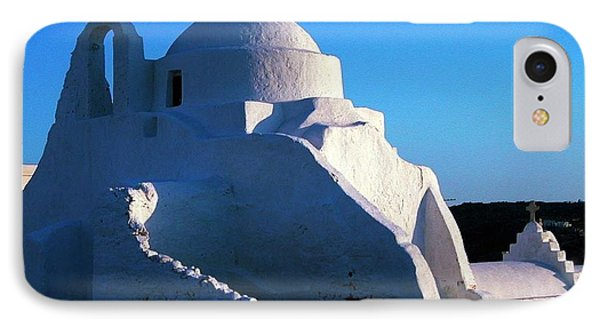 IPhone Case featuring the photograph Mykonos Island Greece by Colette V Hera  Guggenheim