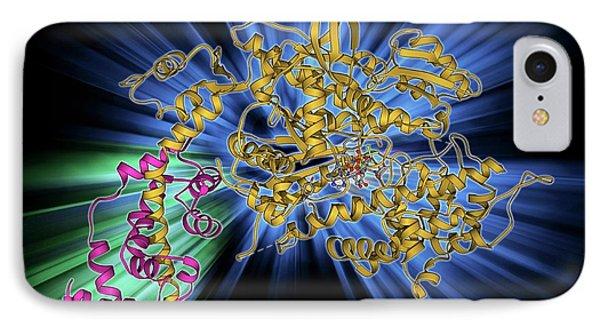 Myosin Molecule IPhone Case