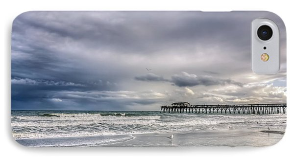 Myrtle Beach Fishing Pier IPhone Case by Rob Sellers