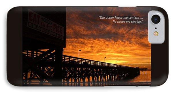 Myrtle Beach Singing Quote IPhone Case