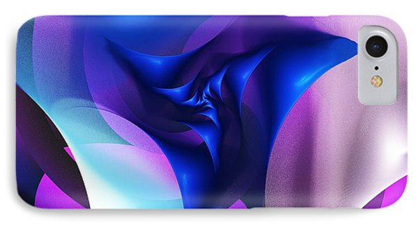 IPhone Case featuring the digital art Mysterious  by David Lane