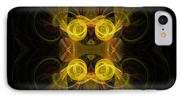 IPhone Case featuring the digital art Mysterious Energy by Hanza Turgul