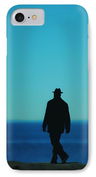Mysterious Man Phone Case by Karol Livote