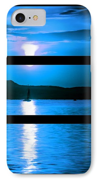 Mysterious Moonlight IPhone Case by Bruce Nutting