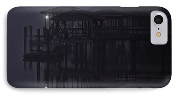 IPhone Case featuring the photograph Mysterious Morning by Laura Ragland