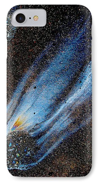 Mysterious Traveler IPhone Case by Samuel Sheats