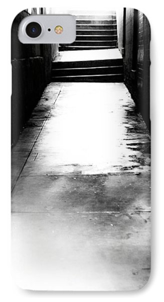 Mysterious Walkway IPhone Case by Shelby  Young