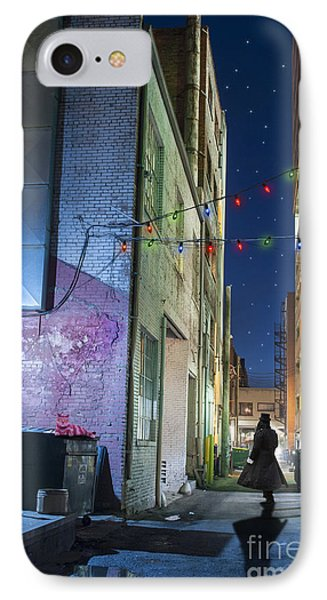 Mystery Alley IPhone Case by Juli Scalzi