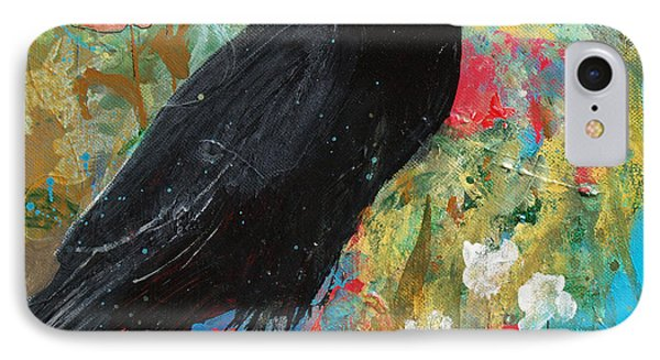 IPhone Case featuring the painting Mystery At Every Turn by Robin Maria Pedrero