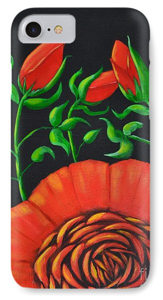 Mystery Flower IPhone Case by Melvin Turner
