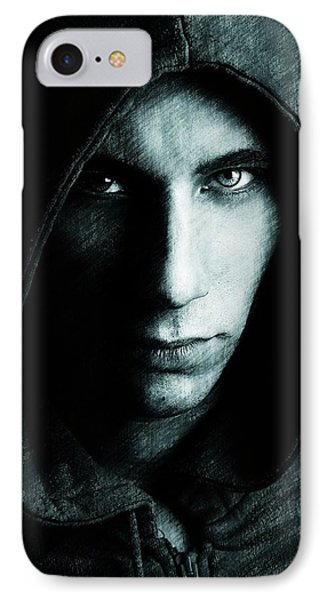 Mystery Man IPhone Case