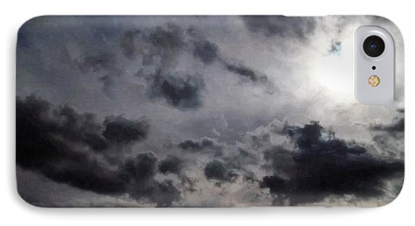 Mystery Of The Sky Phone Case by Glenn McCarthy Art and Photography
