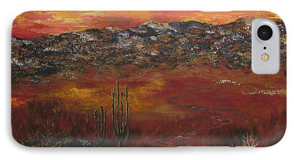 Mystic Desert Phone Case by Linda Eversole