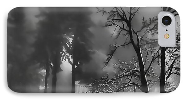 IPhone Case featuring the photograph Mystic Fog by Don Schwartz
