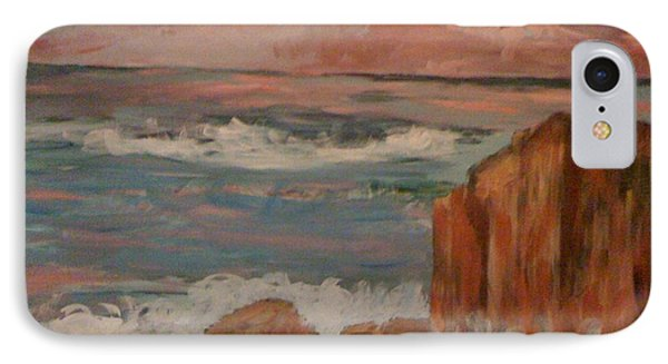 IPhone Case featuring the painting Mystic Isle by Judi Goodwin