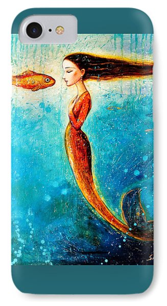 Mystic Mermaid II Phone Case by Shijun Munns