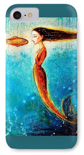 Mystic Mermaid II IPhone Case by Shijun Munns