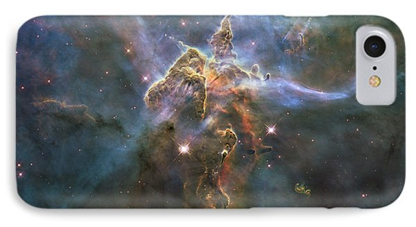 Mystic Mountain IPhone Case by Nasa