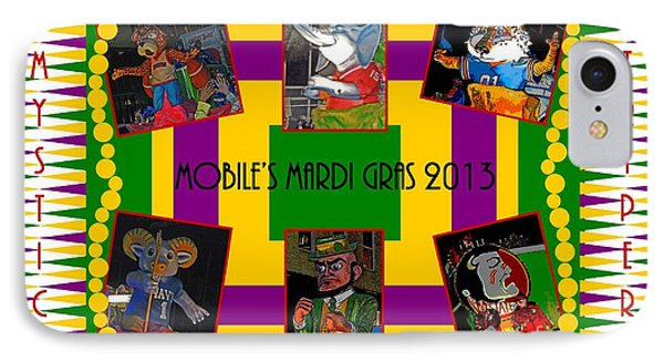 Mystic Stripers Parade Images 2013  Phone Case by Marian Bell