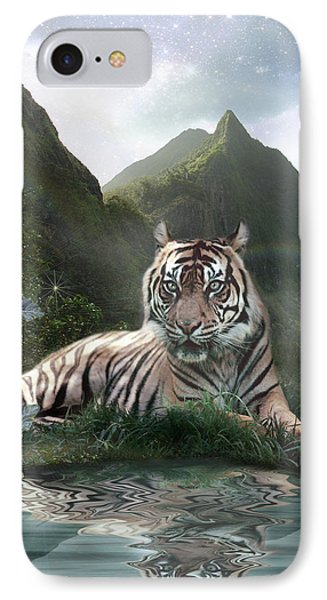 Mystic Tigress Phone Case by Alixandra Mullins