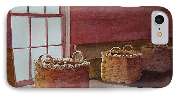 Mystical Baskets IPhone Case by Judy Mercer