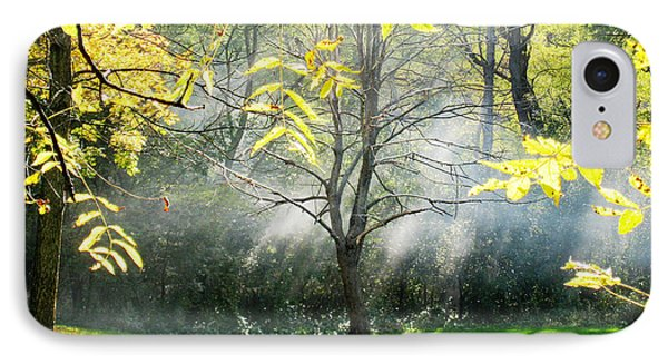 IPhone Case featuring the photograph Mystical Parkland by Nina Silver
